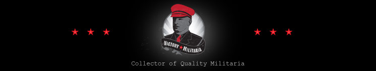 Welcome to VictoryMilitaria com - Collectors of Quality