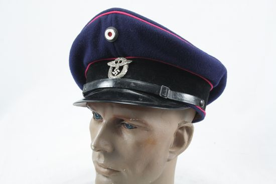 Ww2 German Police M43 Hat Badge: Welcome To VictoryMilitaria.com